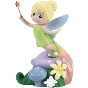 Disney Precious Moments Figurine - Light Up LED Tinker Bell Statue