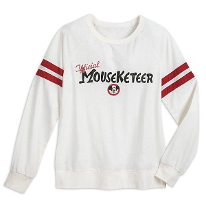 Disney Women's Shirt - Mickey Mouse Club - Official Mouseketeer Raglan