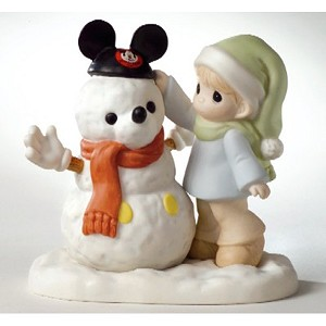 Disney Precious Moments Figurine - There's Magic in the Ears