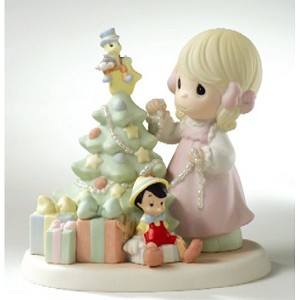 Disney Precious Moments Figurine - When You Wish Upon A Star