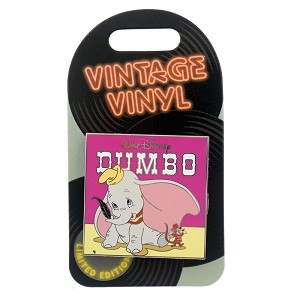 Disney Vintage Vinyl Pin - #01 Dumbo