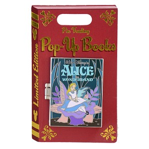 Disney Pin Trading Pop Up Pin - #02 Alice in Wonderland