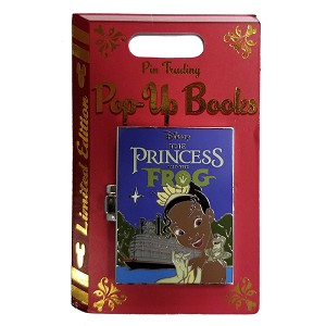 Disney Pin Trading Pop Up Pin - #05 The Princess and the Frog - Tiana