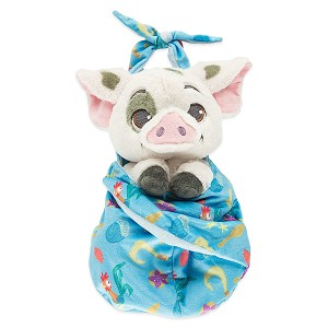 Disney Babies Plush - Baby Pua with Blanket Pouch - Moana