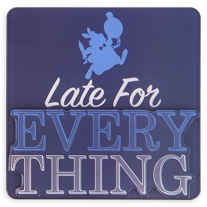 Disney Magnet - White Rabbit - Late For Everything