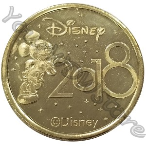Disney World Pocket Token Coin - Disney Springs - 2018