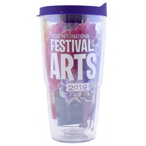 Disney Tervis Tumbler with Lid - Epcot Festival Of The Arts 2019