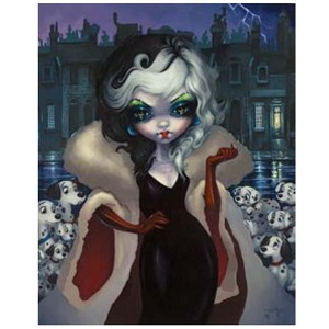 Disney Print - Cruella by Jasmine Becket-Griffith