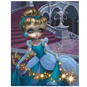 Disney Postcard - Cinderella by Jasmine Becket-Griffith