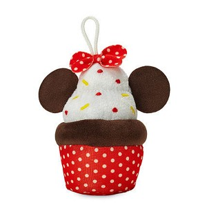 Disney Micro Food Plush - Minnie Mouse Cupcake