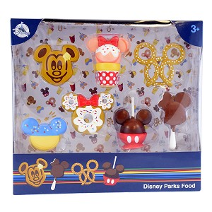 Disney Figurine Set - D'Lish - Disney Park Foods