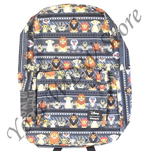 Disney Loungefly Backpack - The Lion King Chibi Characters