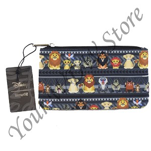 Disney Loungefly Nylon Pouch - The Lion King Chibi Characters - Coin Bag