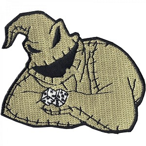 Disney Iron On Patch by Loungefly - Oogie Boogie with Dice