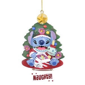 Disney Ornament - Stitch Naughty and Nice