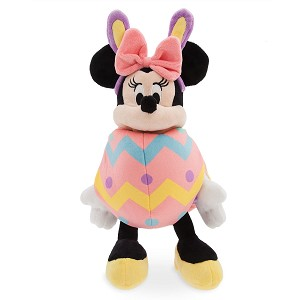 Disney Plush - Easter Egg Bunny Minnie Mouse - Small - 11''