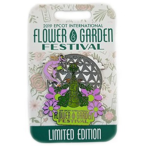 Disney Flower and Garden Pin - 2019 Topiary Figment