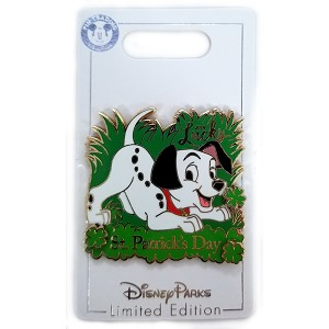 Disney St. Patrick's Day Pin - 2019 Lucky Dalmatian