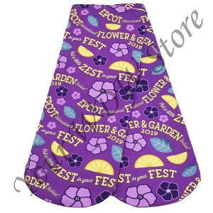 Disney Socks - Epcot Flower and Garden 2019 Violet Lemonade