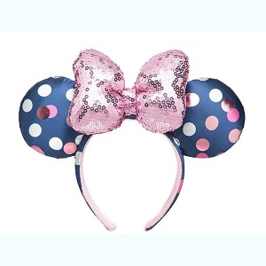 Disney Minnie Ears Headband - Minnie Polka Dots - Blue / Pink