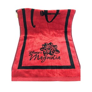 Disney Golf Towel - Disney's Magnolia and Palm - Red & Black