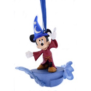 Disney Sketchbook Ornament - Sorcerer Mickey Mouse Light Up - Fantasia - Parks