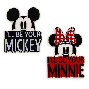 Disney 2 Pin Set - Mickey and Minnie - I'll Be Your ...