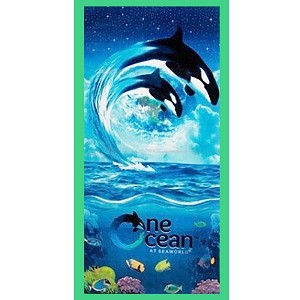 SeaWorld Beach Towel - One Ocean