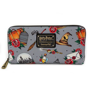 Universal Loungefly Zip Around Wallet - Harry Potter Relics
