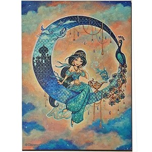 Disney Magnet - John Coulter Princess Jasmine Dreams