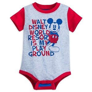 Disney Baby Bodysuit - Mickey - Disney World Is My Playground