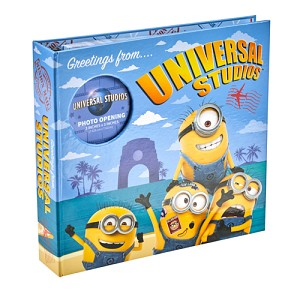 Universal Photo Album - Minions Greetings from Universal Studios