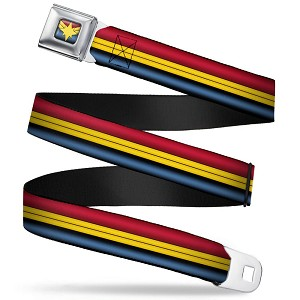 Disney Designer Seatbelt Belt - Captain Marvel