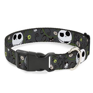 Disney Designer Breakaway Pet Collar - NBC - Jack - Halloween Elements