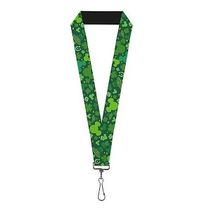 Disney Designer Lanyard - Mickey Icon - St. Patrick's Day