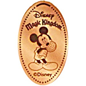 Disney Pressed Penny - Mickey with Sucker