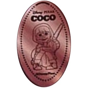 Disney Pressed Penny - Miguel with Guitar - Coco