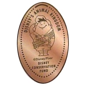Disney Pressed Penny - Russell - Disney Conservation Fund