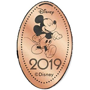 Disney Pressed Penny - 2019 Mickey Mouse