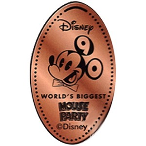 Disney Pressed Penny - Face of Mickey - Mouse Party