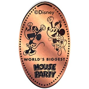 Disney Pressed Penny - Minnie Mouse - Mouse Party