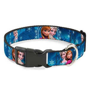 Disney Designer Breakaway Pet Collar - Frozen Sisters - Anna and Elsa