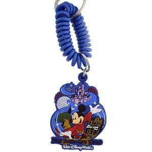 Disney Keychain - Four Parks One World - Rubber