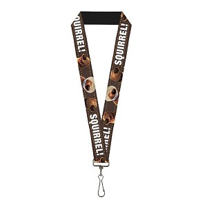 Disney Designer Lanyard - Pixar UP - Dug - SQUIRREL!