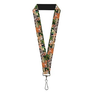 Disney Designer Lanyard - Jungle Book - I Wanna Be Like You