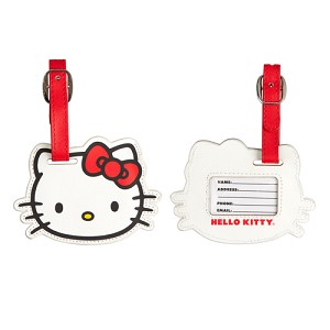 Universal Bag Tag - Hello Kitty Face