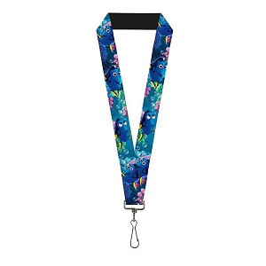 Disney Designer Lanyard - Finding Dory - Bubbles - Under the Sea