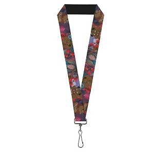 Disney Designer Lanyard - Beauty & the Beast Prince in Beast & Human Form