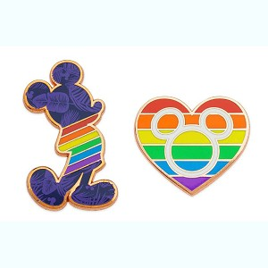 Disney Pin Set - Mickey Mouse Rainbow Collection