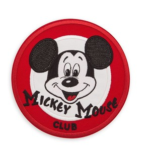 Disney Iron On Patch - PatcheD - Mickey Mouse Club
